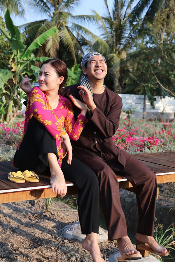 Ngọc Lan - Thanh Bình từng hạnh phúc trước tin đồn hôn nhân rạn nứt - Ảnh 2.
