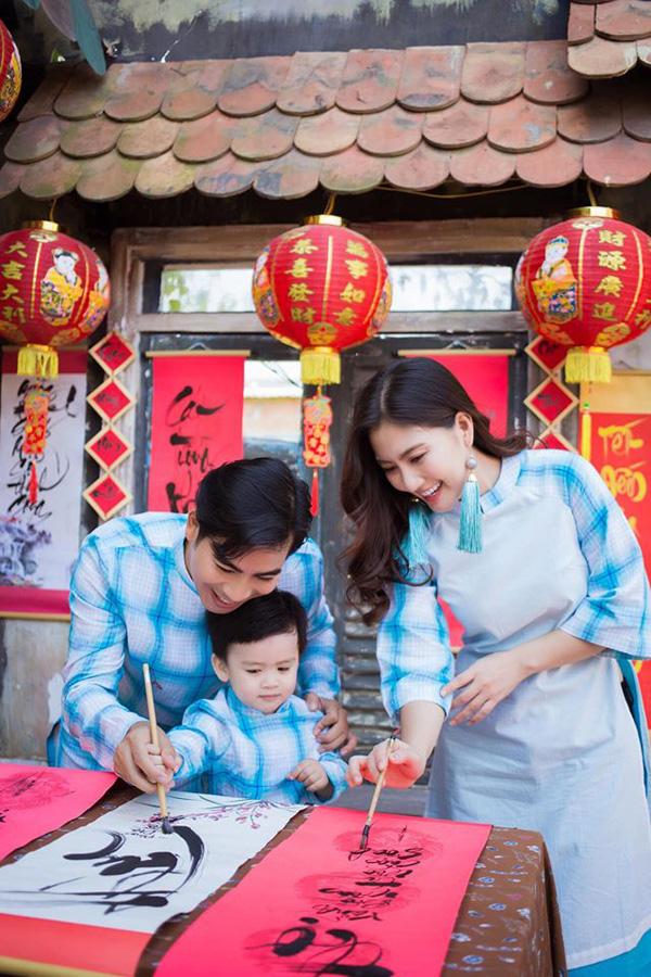 Ngọc Lan - Thanh Bình từng hạnh phúc trước tin đồn hôn nhân rạn nứt - Ảnh 4.