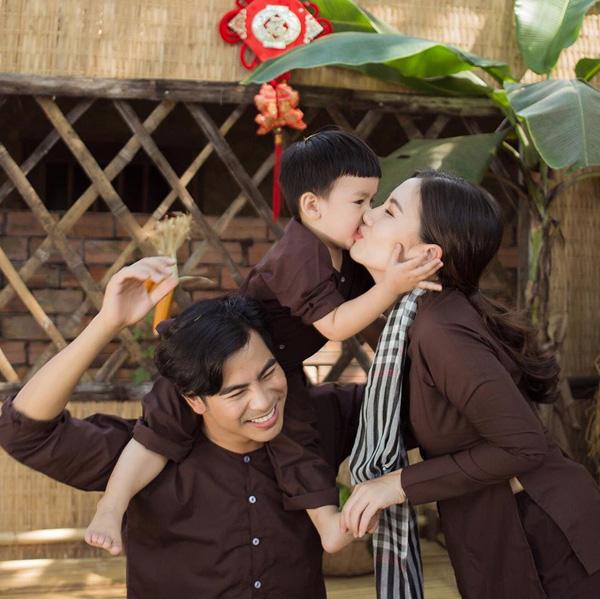 Ngọc Lan - Thanh Bình từng hạnh phúc trước tin đồn hôn nhân rạn nứt - Ảnh 5.