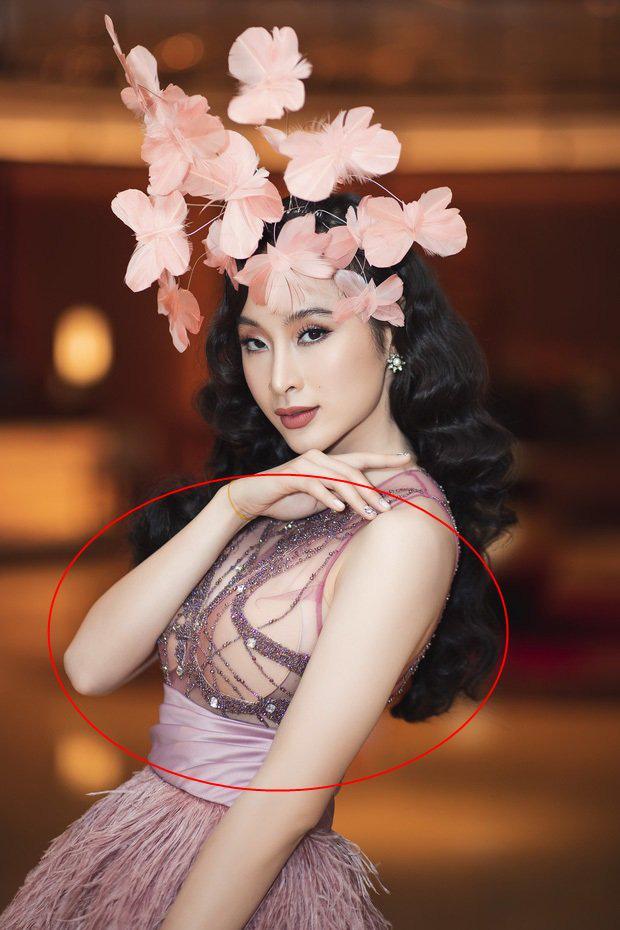 Đang hóa nữ thần gợi cảm, mỹ nhân Việt lại muối mặt vì miếng dán ngực phản chủ - Ảnh 3.