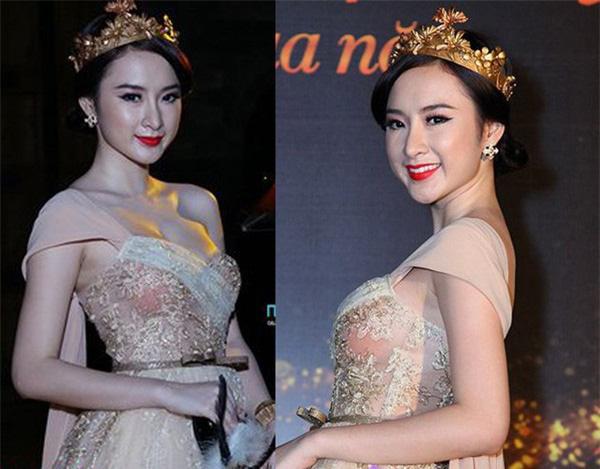 Đang hóa nữ thần gợi cảm, mỹ nhân Việt lại muối mặt vì miếng dán ngực phản chủ - Ảnh 4.