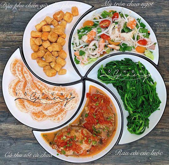 Bữa cơm chiều nhiều rau xanh giải ngán, ăn hết cơm vẫn không chán  - Ảnh 1.