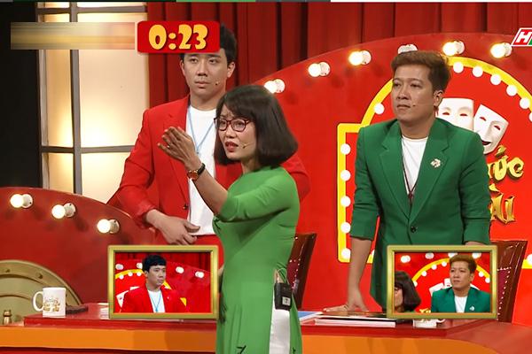 Trấn Thành, Ngô Kiến Huy, Trường Giang bị bóc mẽ ở Thách thức danh hài - Ảnh 9.