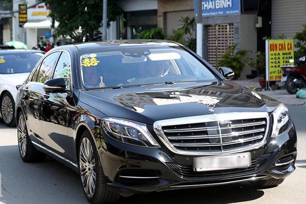 Dàn siêu xe trong đám cưới của Bảo Thy hé lộ gia sản khổng lồ của chú rể doanh nhân - Ảnh 4.