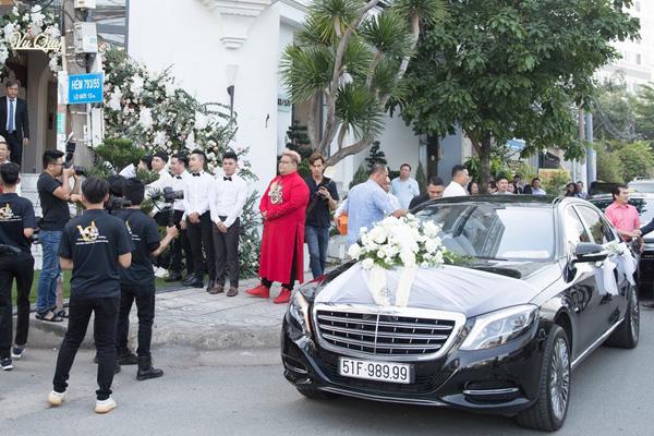 Dàn siêu xe trong đám cưới của Bảo Thy hé lộ gia sản khổng lồ của chú rể doanh nhân - Ảnh 5.