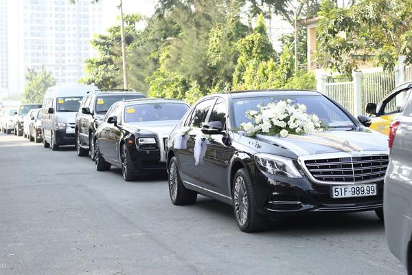 Dàn siêu xe trong đám cưới của Bảo Thy hé lộ gia sản khổng lồ của chú rể doanh nhân - Ảnh 6.