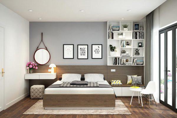 Tư vấn thiết kế căn hộ tập thể 52m² với chi phí 140 triệu đồng - Ảnh 13.