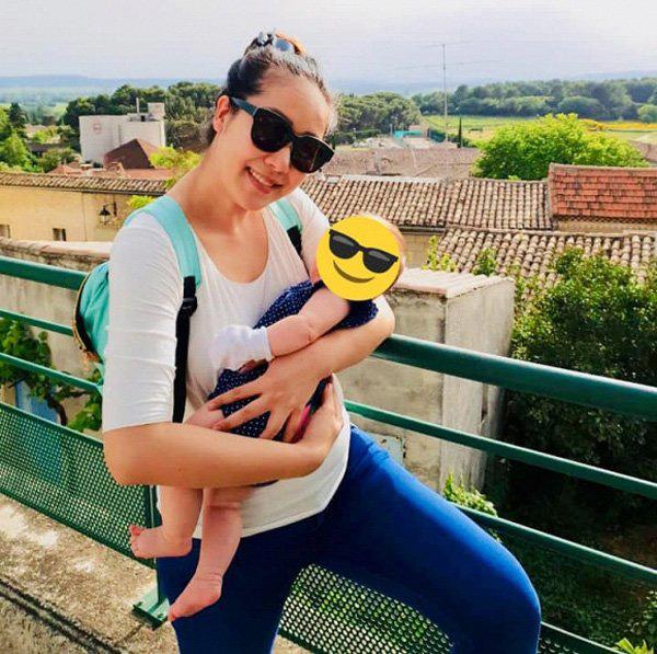 Hoa hậu gia thế khủng nhất VN mang bầu ngủ ngồi suốt 4 tháng, sinh xong vẫn đẫy đà - Ảnh 5.
