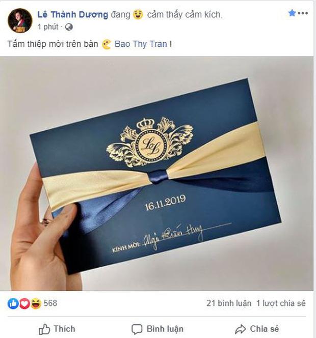 Thêm nhiều nghệ sĩ xác nhận dự đám cưới Bảo Thy: Hóa ra không phải chỉ có 5 sao Việt được mời! - Ảnh 6.
