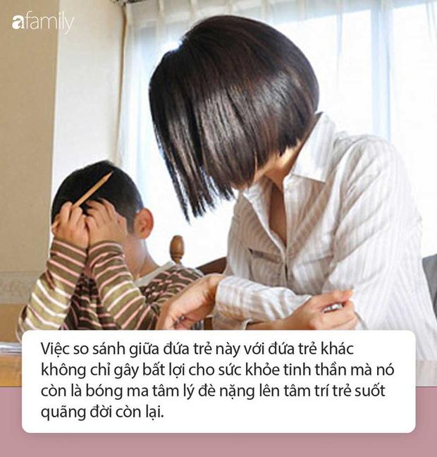 So sánh con mình với con nhà người ta: Cha mẹ đã vô tình đẩy con ra khỏi nhà và cản bước thành công của con trong tương lai - Ảnh 2.