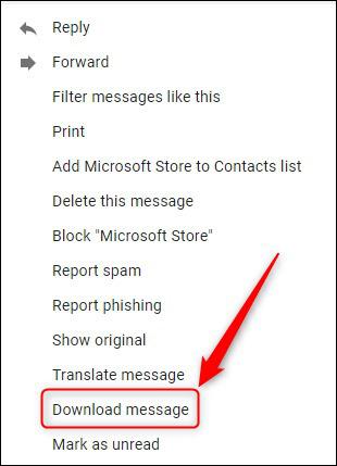Cách lưu email vào ổ cứng máy tính - Ảnh 3.