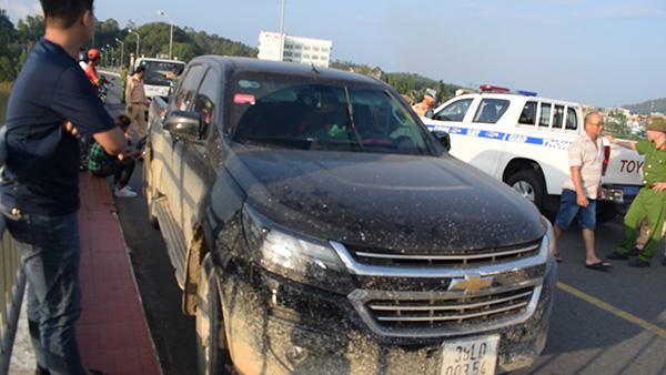 Nữ tài xế say rượu tấn công Cảnh sát giao thông - Ảnh 2.