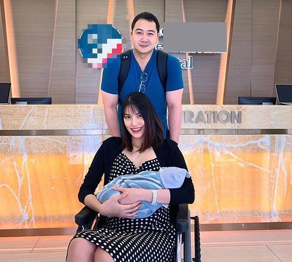 Chồng Lan Khuê bất ngờ tiết lộ hình ảnh con trai mới sinh được 3 ngày - Ảnh 1.