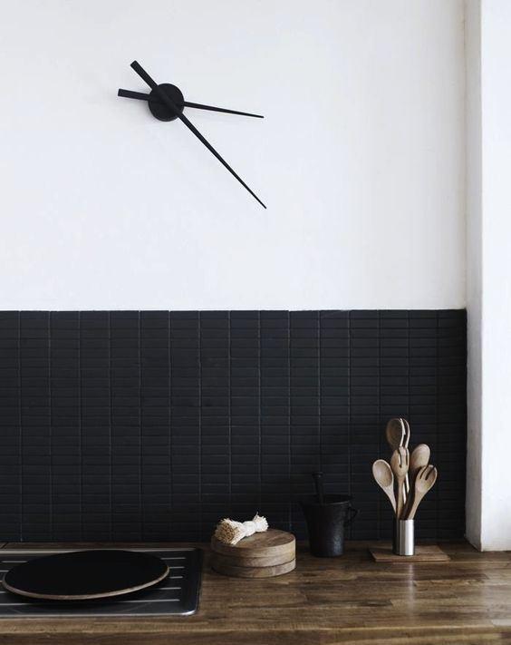Những ý tưởng trang trí nhà bếp màu đen siêu ấn tượng - Ảnh 10.