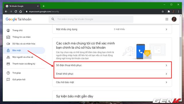 Đây là những cách đơn giản giúp bảo vệ tài khoản Google mà bạn nên biết và sử dụng - Ảnh 2.