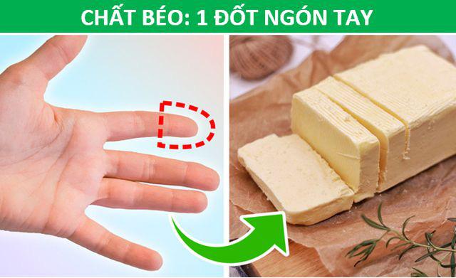 Mẹo hay: Xác định lượng thức ăn phù hợp với cơ thể chỉ bằng…bàn tay - Ảnh 4.