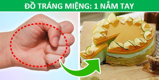 Mẹo hay: Xác định lượng thức ăn phù hợp với cơ thể chỉ bằng…bàn tay - Ảnh 6.