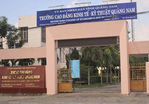 Hiệu trưởng Cao đẳng Kinh tế - Kỹ thuật Quảng Nam xin nghỉ việc - Ảnh 1.