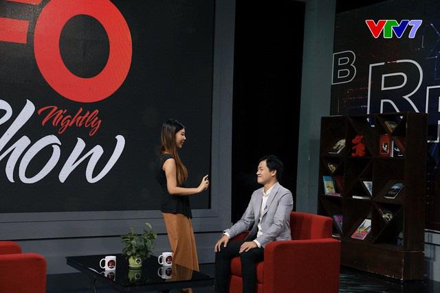 MC quốc dân Trần Ngọc lần đầu thể hiện khả năng nói tiếng Anh siêu dễ thương trên sóng truyền hình - Ảnh 3.