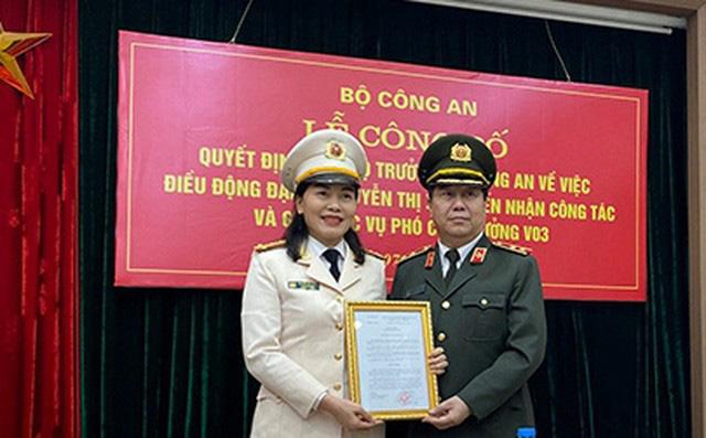 Bổ nhiệm nữ đại biểu Quốc hội giữ chức Phó Cục trưởng Công an - Ảnh 2.