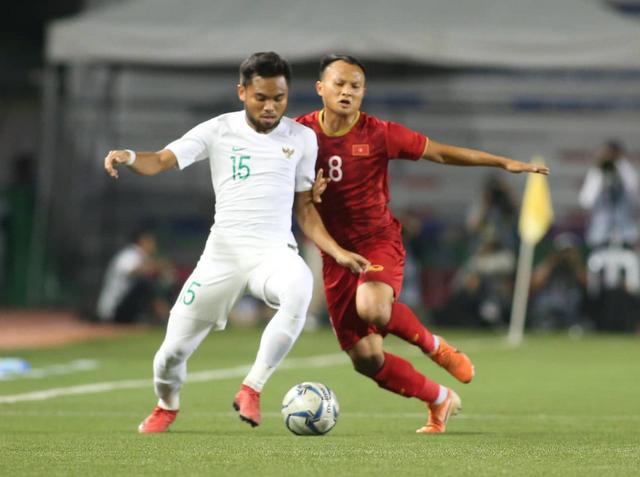 U22 Việt Nam ngược dòng thắng Indonesia 2-1 vào phút bù giờ - Ảnh 13.