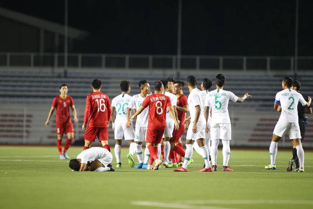 U22 Việt Nam ngược dòng thắng Indonesia 2-1 vào phút bù giờ - Ảnh 16.