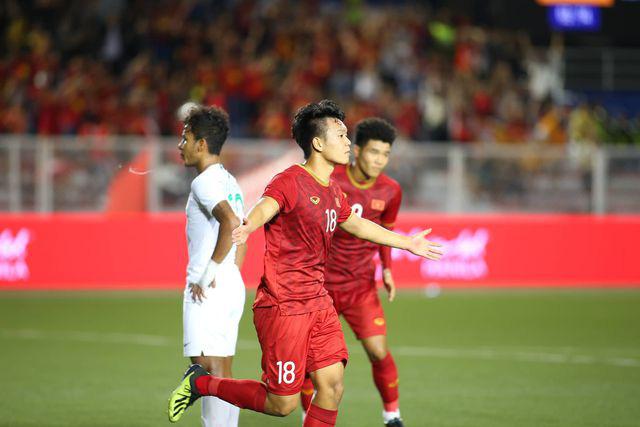 U22 Việt Nam ngược dòng thắng Indonesia 2-1 vào phút bù giờ - Ảnh 3.