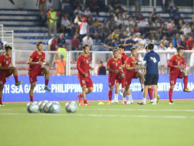 U22 Việt Nam ngược dòng thắng Indonesia 2-1 vào phút bù giờ - Ảnh 23.