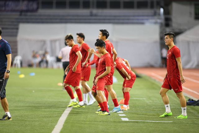 U22 Việt Nam ngược dòng thắng Indonesia 2-1 vào phút bù giờ - Ảnh 28.