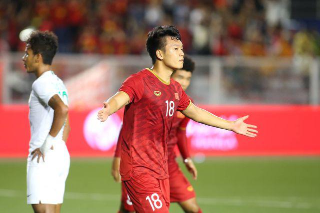 U22 Việt Nam ngược dòng thắng Indonesia 2-1 vào phút bù giờ - Ảnh 4.