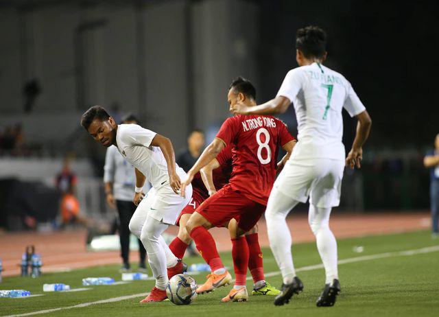U22 Việt Nam ngược dòng thắng Indonesia 2-1 vào phút bù giờ - Ảnh 6.