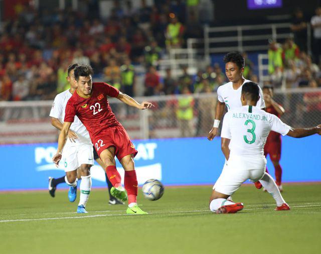 U22 Việt Nam ngược dòng thắng Indonesia 2-1 vào phút bù giờ - Ảnh 10.