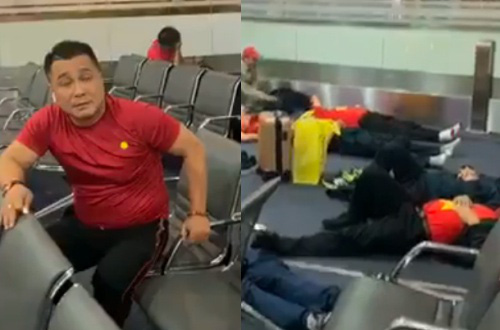 Dàn nghệ sĩ Việt và 300 CĐV vạ vật suốt đêm ở sân bay Philippines - Ảnh 2.