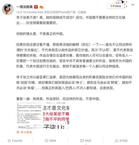 Tiên nữ Lý Tử Thất hứng búa rìu dư luận vì các video dân dã  - Ảnh 2.