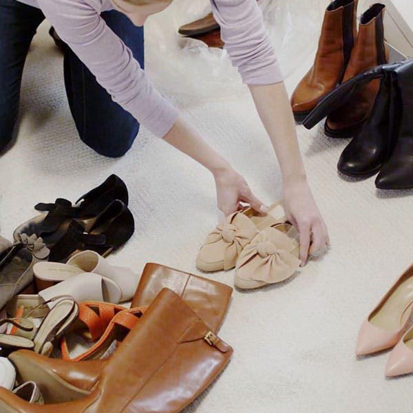 Những mẹo lưu trữ giày dép cực hay ho không phải ai cũng biết - Ảnh 2.