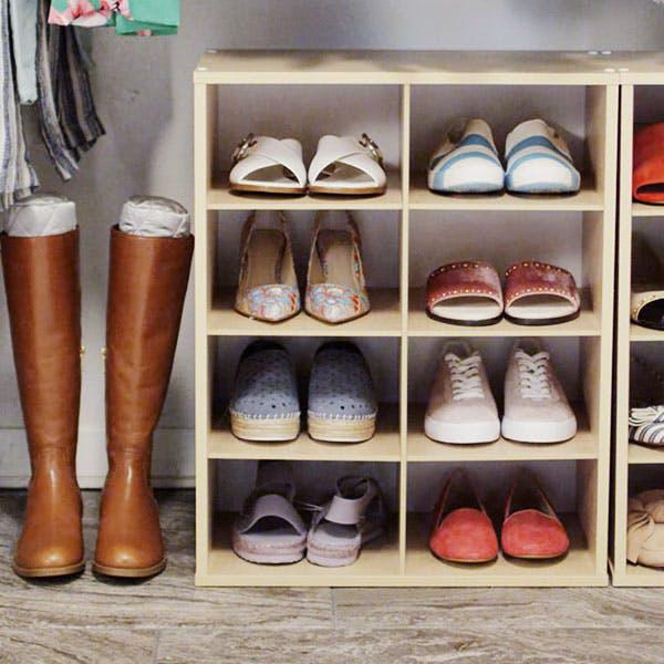 Những mẹo lưu trữ giày dép cực hay ho không phải ai cũng biết - Ảnh 4.