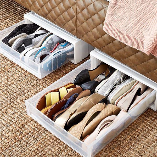 Những mẹo lưu trữ giày dép cực hay ho không phải ai cũng biết - Ảnh 7.