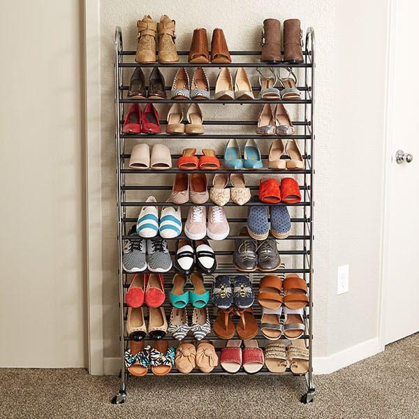 Những mẹo lưu trữ giày dép cực hay ho không phải ai cũng biết - Ảnh 8.