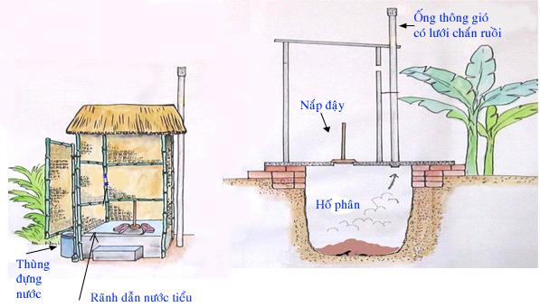 Xây dựng nhà tiêu hợp vệ sinh để bảo vệ sức khỏe cho cả gia đình - Ảnh 3.