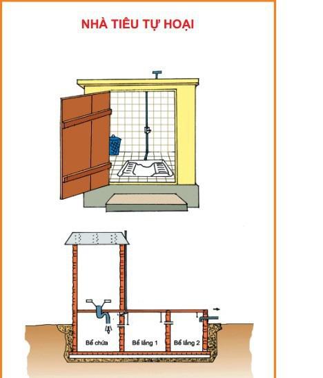 Xây dựng nhà tiêu hợp vệ sinh để bảo vệ sức khỏe cho cả gia đình - Ảnh 2.