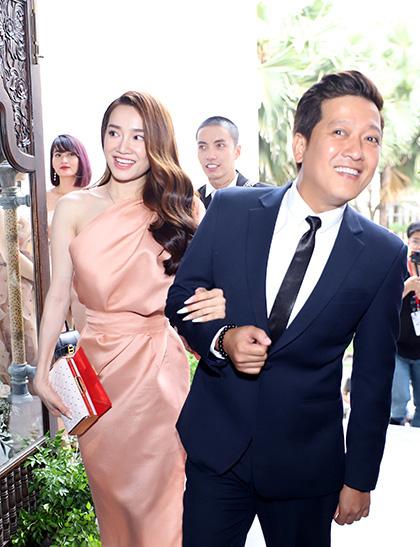 Hành động quan tâm bà xã cực đáng yêu của Trường Giang trong lễ cưới của Hoàng Oanh chiếm trọn cảm tình của cư dân mạng - Ảnh 4.