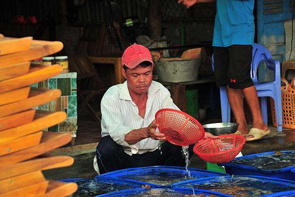 """Chợ hải sản """"không mặc cả"""" trên đảo Nam Du - Ảnh 8."""