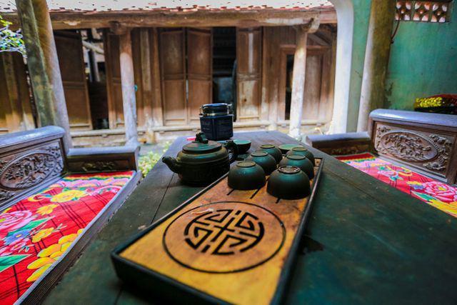 Độc nhất Hà Nội: Nhà cổ 300 tuổi làm từ gỗ lim nằm giữa vườn xanh mát mắt  - Ảnh 12.