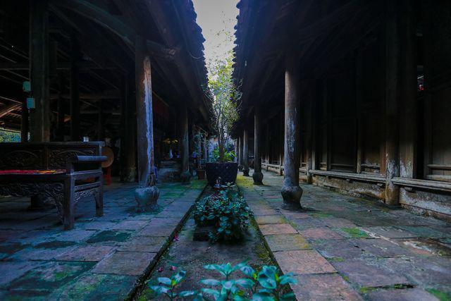 Độc nhất Hà Nội: Nhà cổ 300 tuổi làm từ gỗ lim nằm giữa vườn xanh mát mắt  - Ảnh 13.