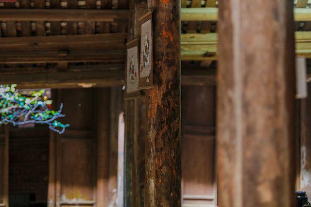 Độc nhất Hà Nội: Nhà cổ 300 tuổi làm từ gỗ lim nằm giữa vườn xanh mát mắt  - Ảnh 17.