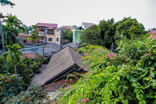 Độc nhất Hà Nội: Nhà cổ 300 tuổi làm từ gỗ lim nằm giữa vườn xanh mát mắt  - Ảnh 3.