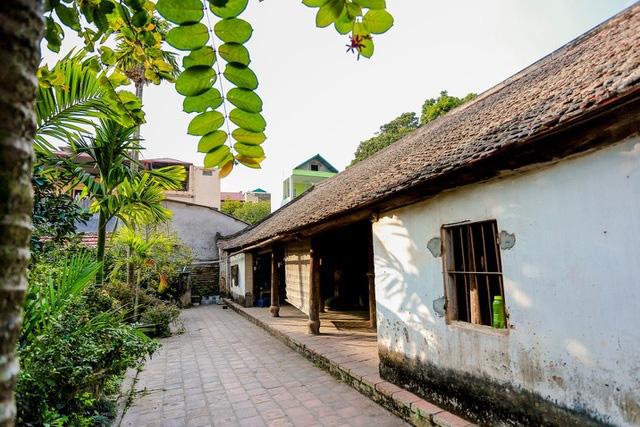 Độc nhất Hà Nội: Nhà cổ 300 tuổi làm từ gỗ lim nằm giữa vườn xanh mát mắt  - Ảnh 6.