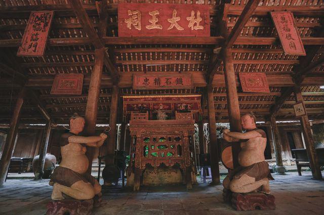Độc nhất Hà Nội: Nhà cổ 300 tuổi làm từ gỗ lim nằm giữa vườn xanh mát mắt  - Ảnh 8.