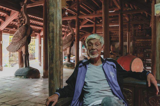 Độc nhất Hà Nội: Nhà cổ 300 tuổi làm từ gỗ lim nằm giữa vườn xanh mát mắt  - Ảnh 10.