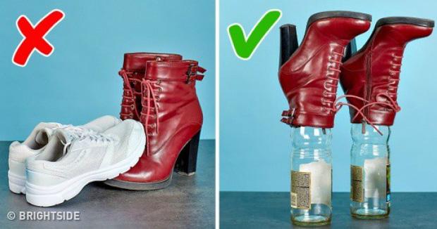 9 mẹo hay ho giúp giữ đôi giày của bạn lúc nào trông cũng sạch và bền như mới mua - Ảnh 10.